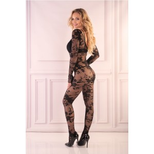 Bodystocking Livia Corsetti Fashion 143720, crna